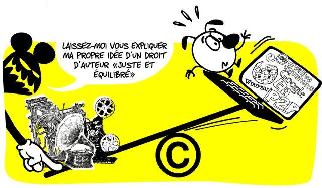Laissez-nous vous expliquer notre idée d'un droit d'auteur juste et équilibré