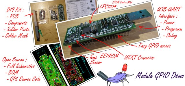 Le module GPIO Démo en détail