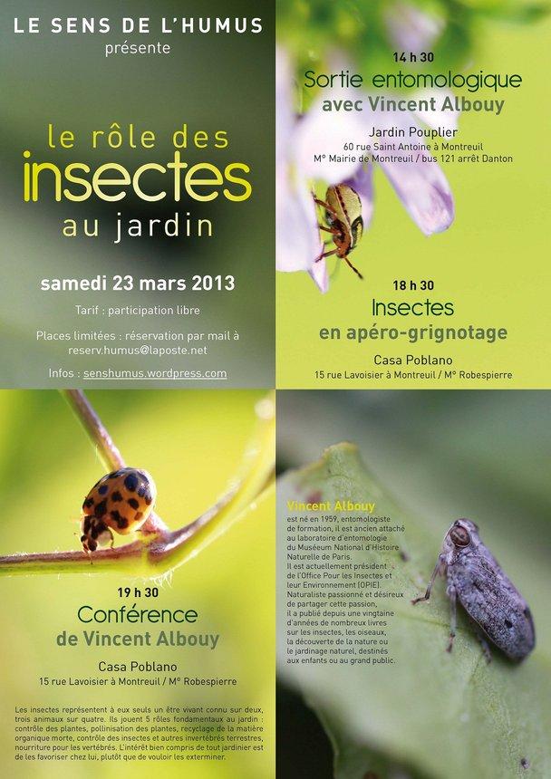 Les insectes au jardin jardin solidaire ulule for Au jardin singapore menu