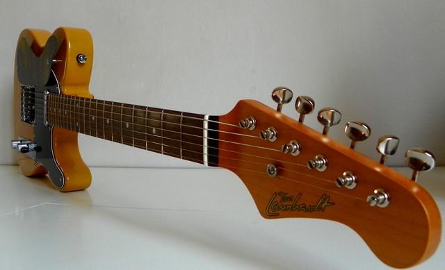 Guitare Tom Launhardt TC61 équipée d'une Gperc