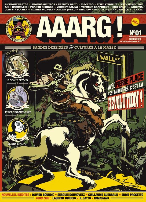 1ère de couverture de la revue AAARG!