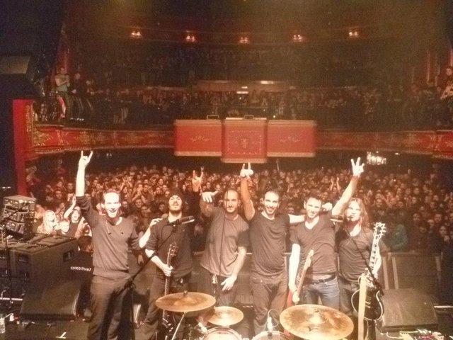Klone live à Londres au Koko en 1ere partie de Gojira