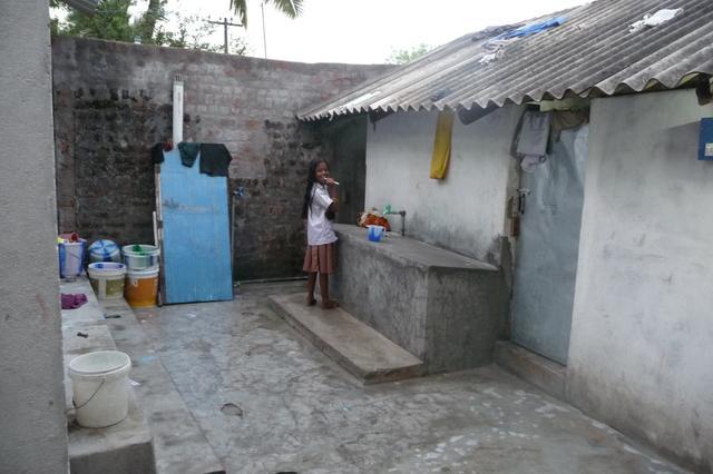 La salle de bain des filles