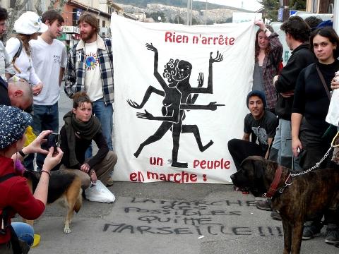 Le départ de Marseille