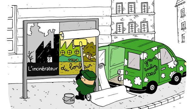 Le greenwashing appliqué aux déchets