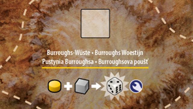 Burroughs Desert (board detail)