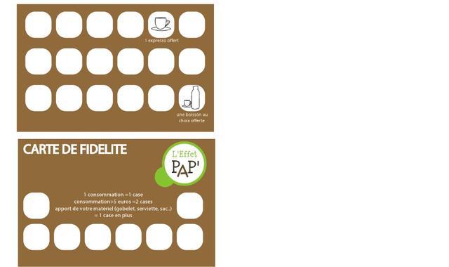 prototype de la carte de fid lit une p querette dans le b ton caf nomade ulule. Black Bedroom Furniture Sets. Home Design Ideas