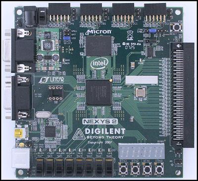 NEXYS2 FPGA starter kit