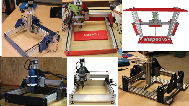 ShapeOko Routers