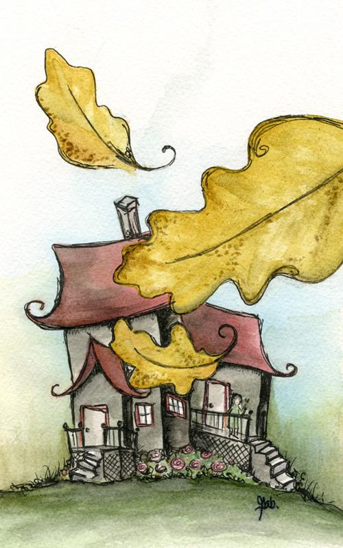 Les Six Brumes : Enraciné, illustration intérieure