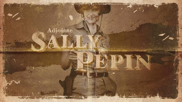 Woman with no name : Sally Pépin