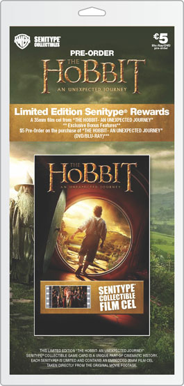 Movie Ticket The Hobbit