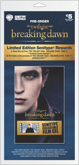 Movie ticket Twilight