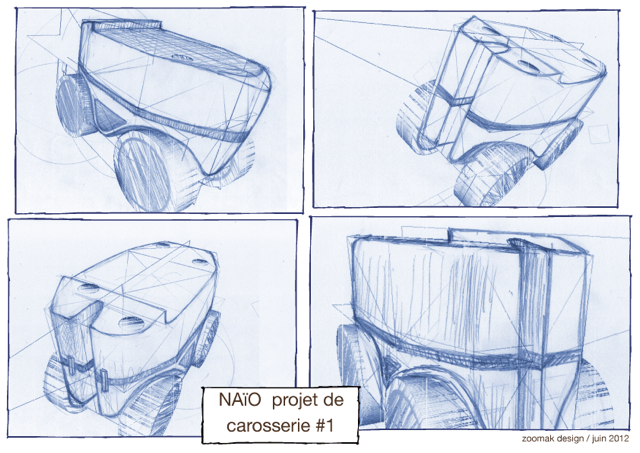 Design du robot