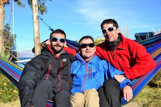 Guillaume, Paul et Alain, ce jeudi 28 Juin