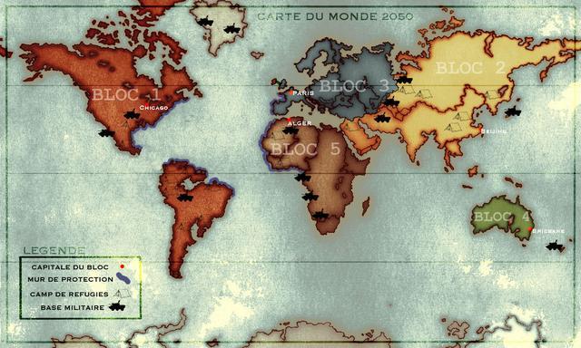 Les nouvelles frontières mondiales en 2052