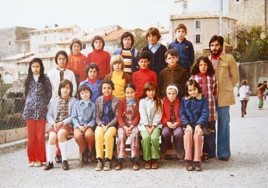 La classe de Christian Brun, année 73-74