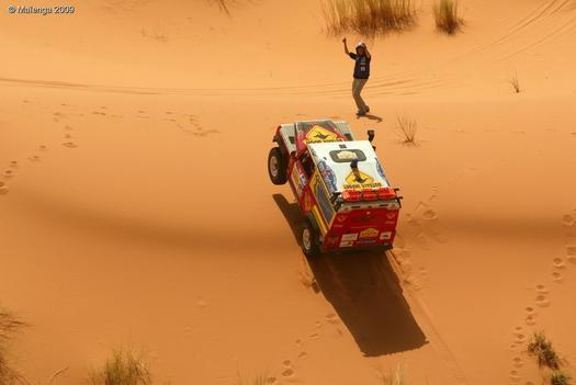 Comment participer rallye des gazelles