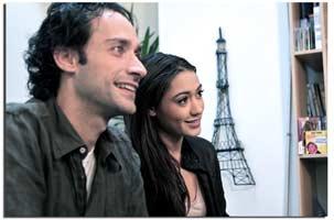Joséphine Jobert et Romain Rouveyrollis