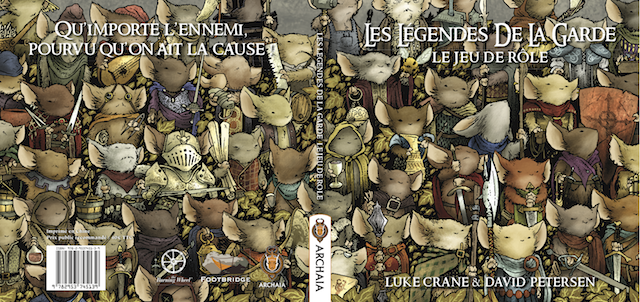 Couverture livre jeu de rôle Les Légendes de la Garde
