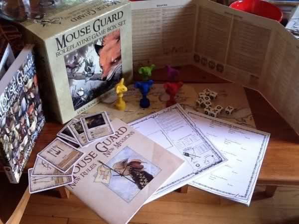 Mouse Guard VF Boîte