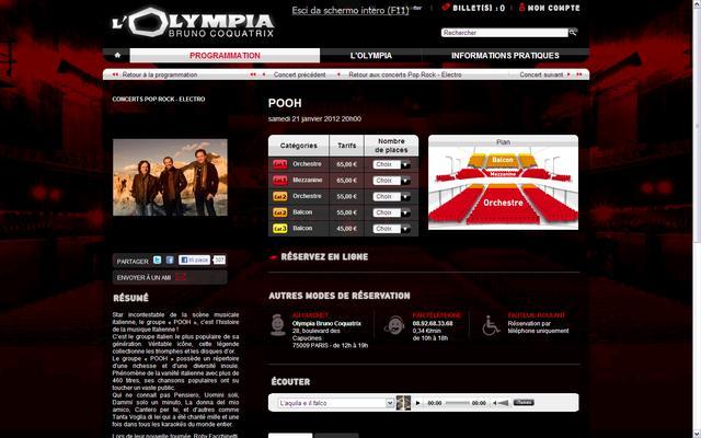 pooh olympya page