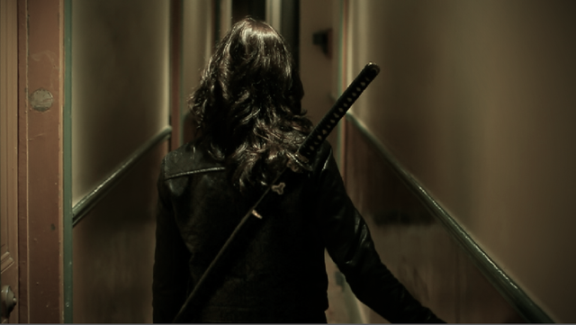 Scene de Jessica dans couloir