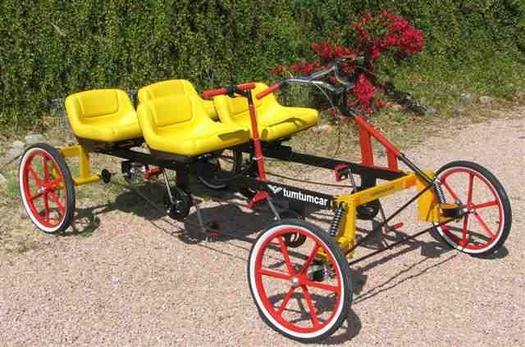 Четырехколесный велосипед взрослый своими руками