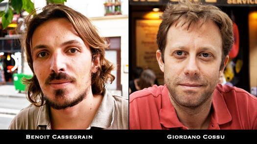 Giordano Cossu et Benoit Cassegrain