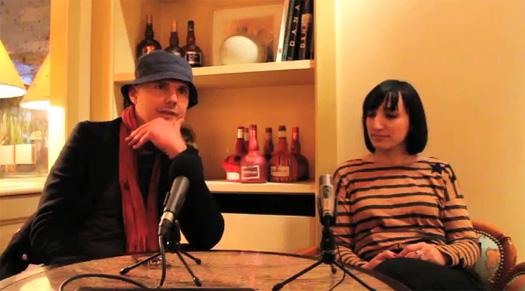 Billy Corgan Claire Ferçak Interview Paris France