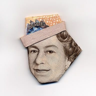 Art Money Queen Elisabeth