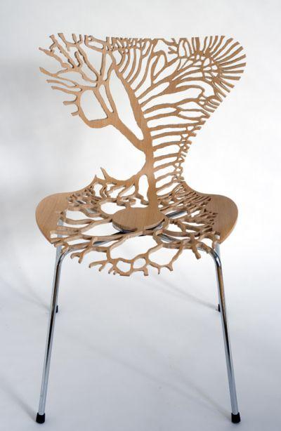 Chaises Design Bois
